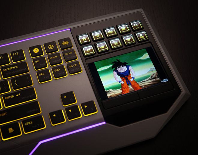 df3314a0dcd Star Wars Keyboard Features LCD Touch-Screen Display | Gadget Wiki ...