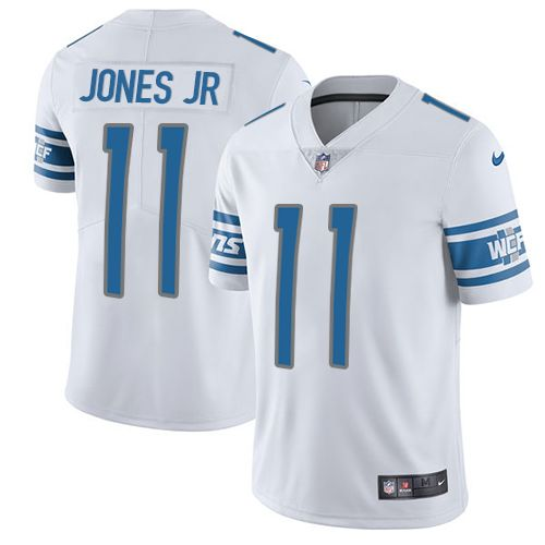 reputable site adbb9 187e3 Nike Lions #11 Marvin Jones Jr White Youth Stitched NFL ...