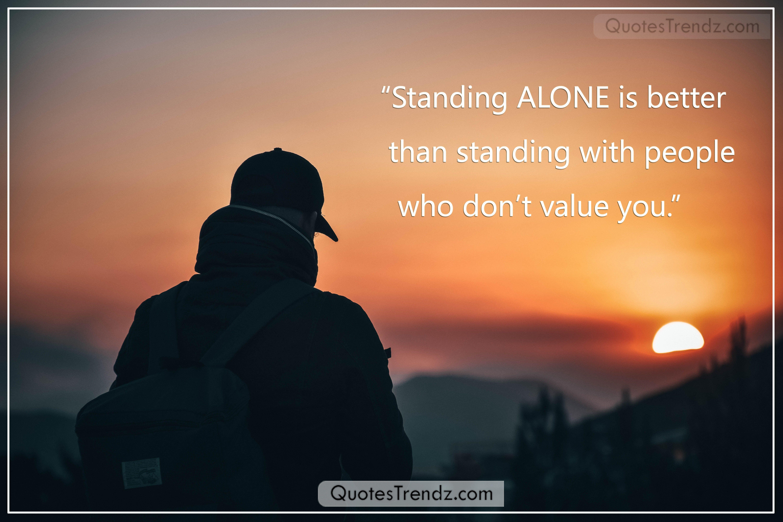 Alone Quotes Sad