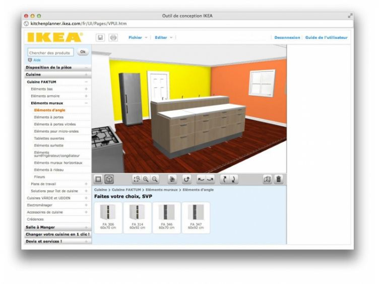 Ikea Cuisine Creer Une Cuisine Virtuelle En 3d In Simulation Cuisine Ikea
