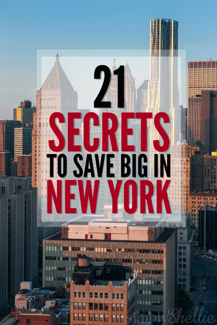 Traveling to New York? Check out this list of 21 Ways to Save in New York City with some our our favorite tips, tricks and secret ways to save in NYC.