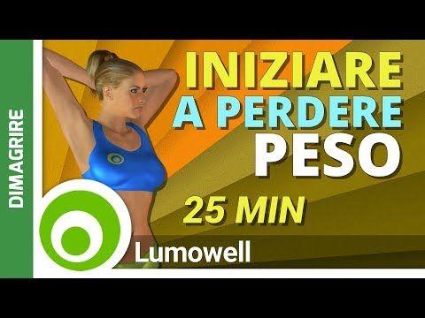 esercizi di routine di perdita di peso di 25 minuti