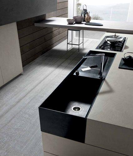 Modulnova Cemento Kitchen Design  Modern Italian Design Extraordinary Italian Design Kitchen Inspiration