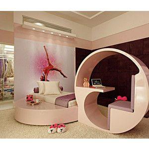 A Gymnastics Bedroom For A Girl I Just Like The Desk