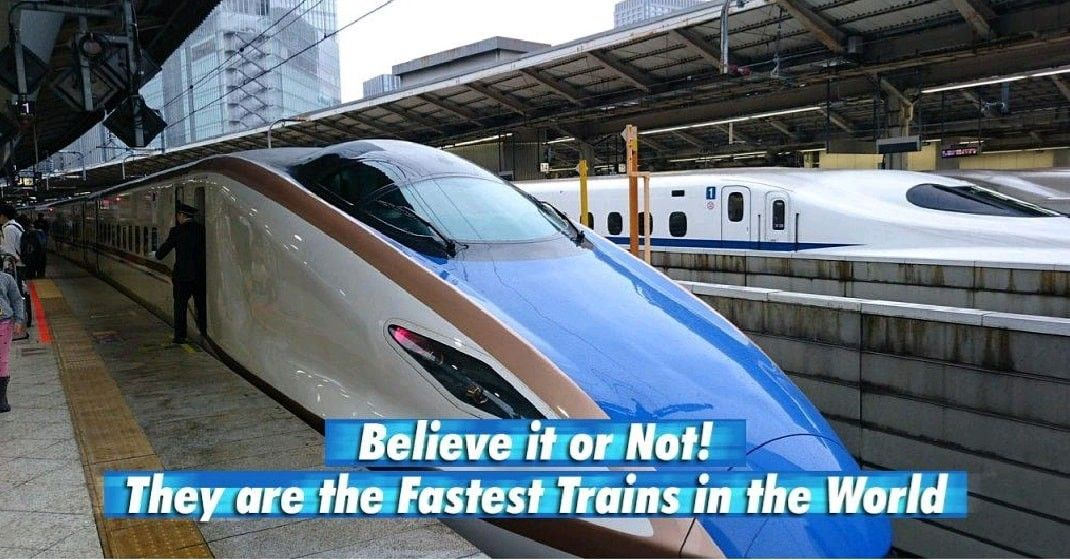 Believe It Or Not They Are The Fastest Trains In The World In 2020 Train High Speed Rail European Countries