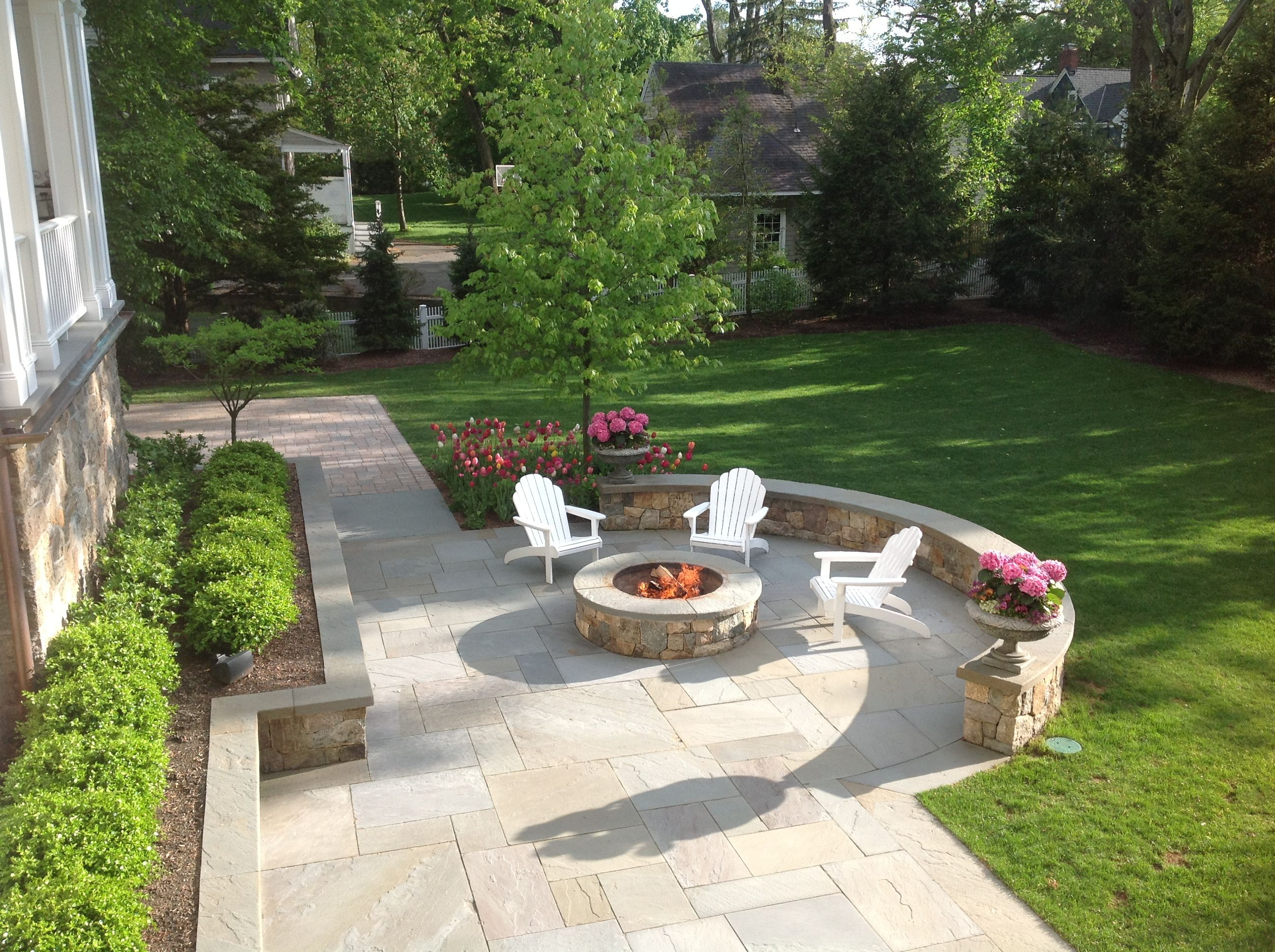 Image Result For Award Winning Patio Designs Concrete Fire Pits