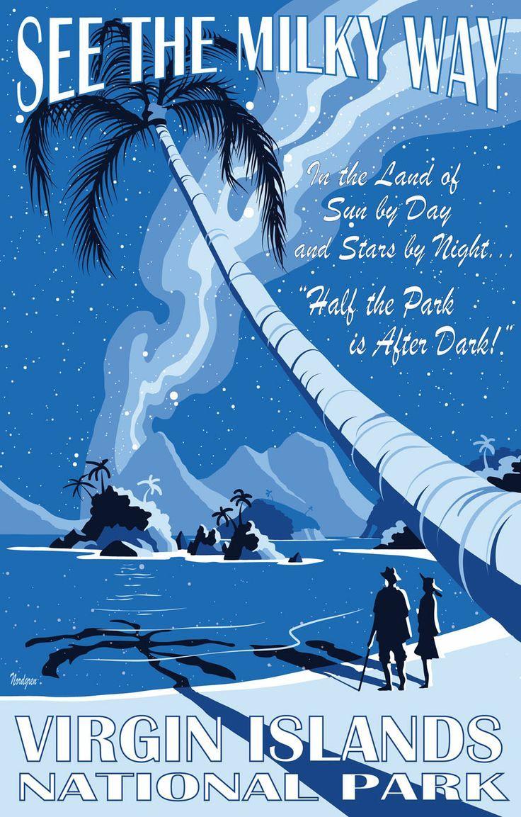 Vintage National Park Posters Part - 50: Virgin Islands National Park Poster - Google Search