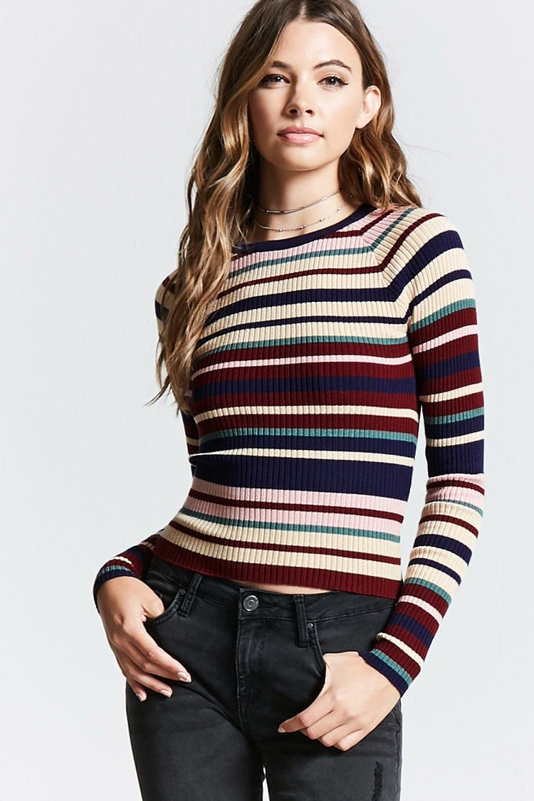 89fe83ac37dfb4 Product Name Contemporary Striped Sweater