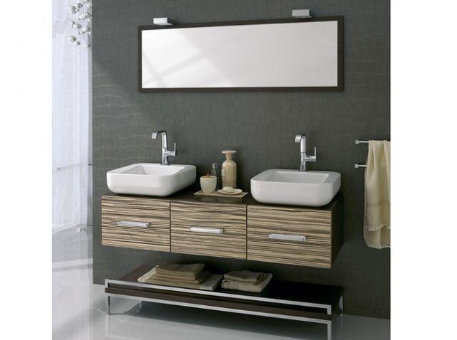 Pratiques et déco les doubles vasques ! #salledebain #bathroom