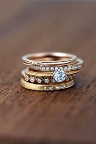 obsessing rings worth stack over wedding stacked