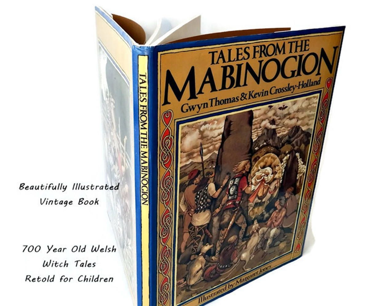 childrens folk tales book tales of the mobinogion celtic welsh