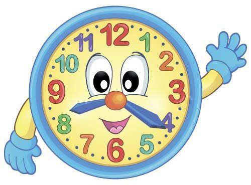 Cartoon Clock Baby Design Vector 02 Kako Merimo As