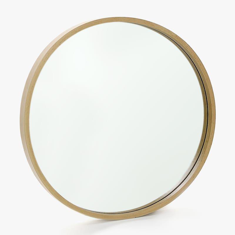 Grosser Runder Spiegel Aus Holz Runde Spiegel Spiegel