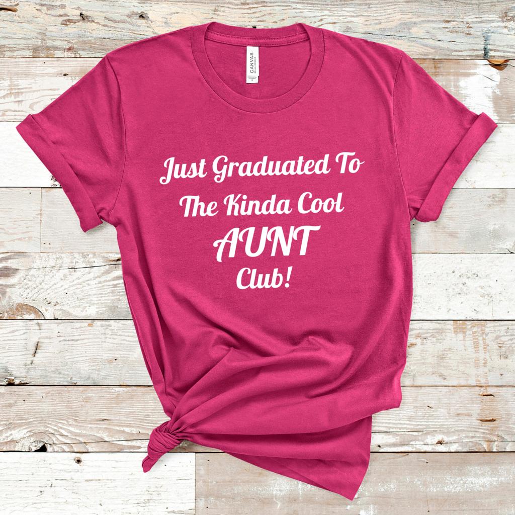 AuntT-Shirt, Kinda Cool Aunt Shirt, Gift For Aunt