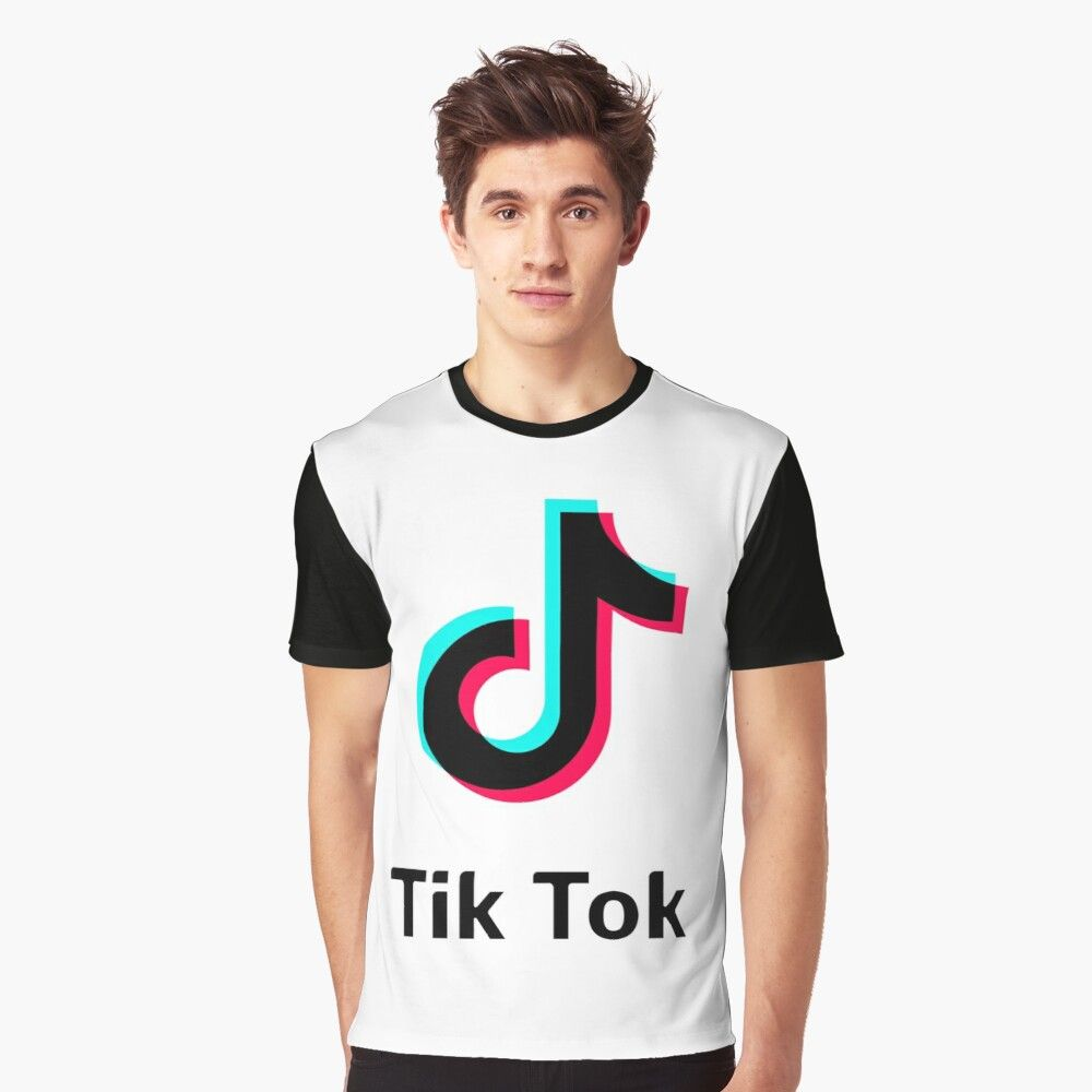 Get My Art Printed On Awesome Products Support Me At Redbubble Rbandme Https Www Redbubble Com I T Shirt Tik Tok By Imanalriy In 2020 T Shirt My T Shirt Mens Tops