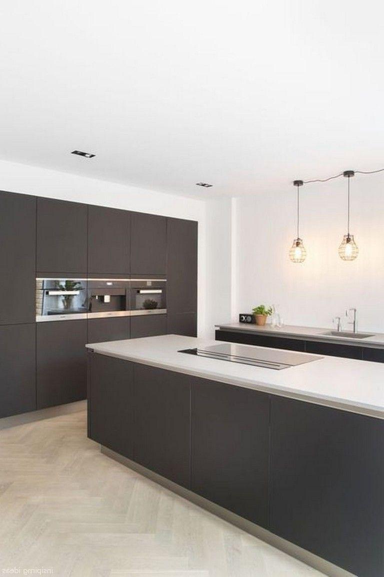 40 Beautiful Modern Kitchen Design Ideas #kitchendesignideas