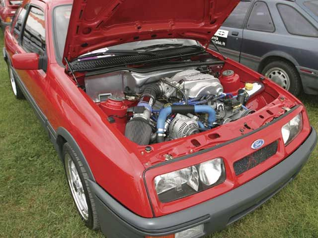 Merkur Xr4ti Underhood Engine Ford Fairlane Ford Mustang Fairlane