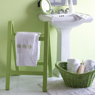 green with envy bathroom accessories paint ideas project gallery - Bathroom Accessories Colours