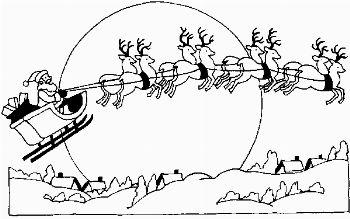 Immagini Slitta Babbo Natale Da Colorare.Slitta Babbo Natale Lavoretti Di Natale Babbo Natale Colori Di Natale Natale