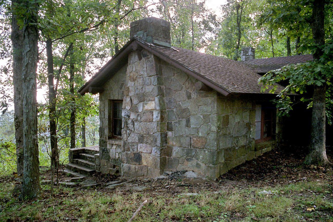 cabin white rock mountain arkansas the ccc era cabin is