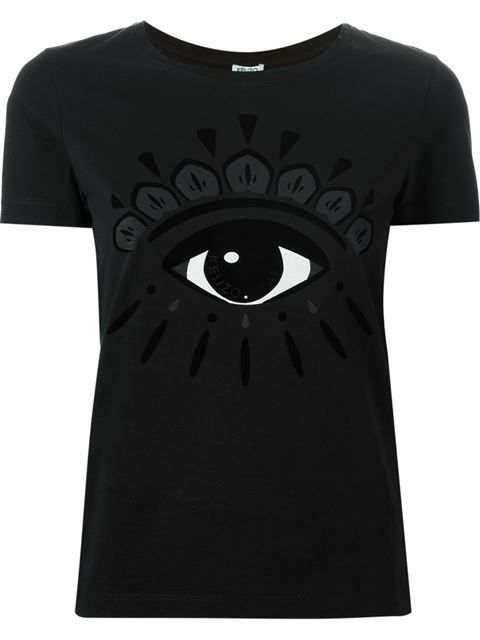 Shop Kenzo  Eye  T-shirt in Tessabit from the world s best independent  boutiques at farfetch.com. Shop 300 boutiques at one address. 8a70d6c6f74