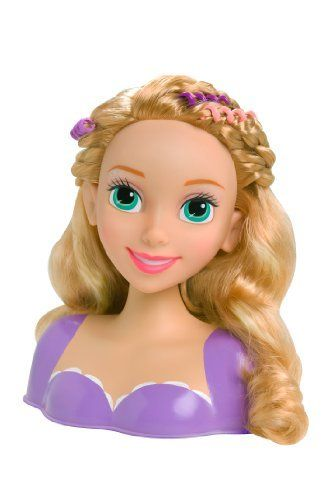 Just Play Disney Princess Rapunzel Styling Head Doll By Just Play Http Www Amazon Com Dp Disney Princess Rapunzel Disney Princess Hairstyles Disney Princess