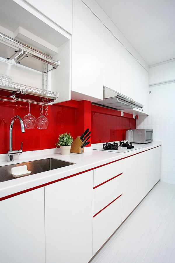 Kitchen Design Lux Design Pte Ltd HDB Singapore Interior