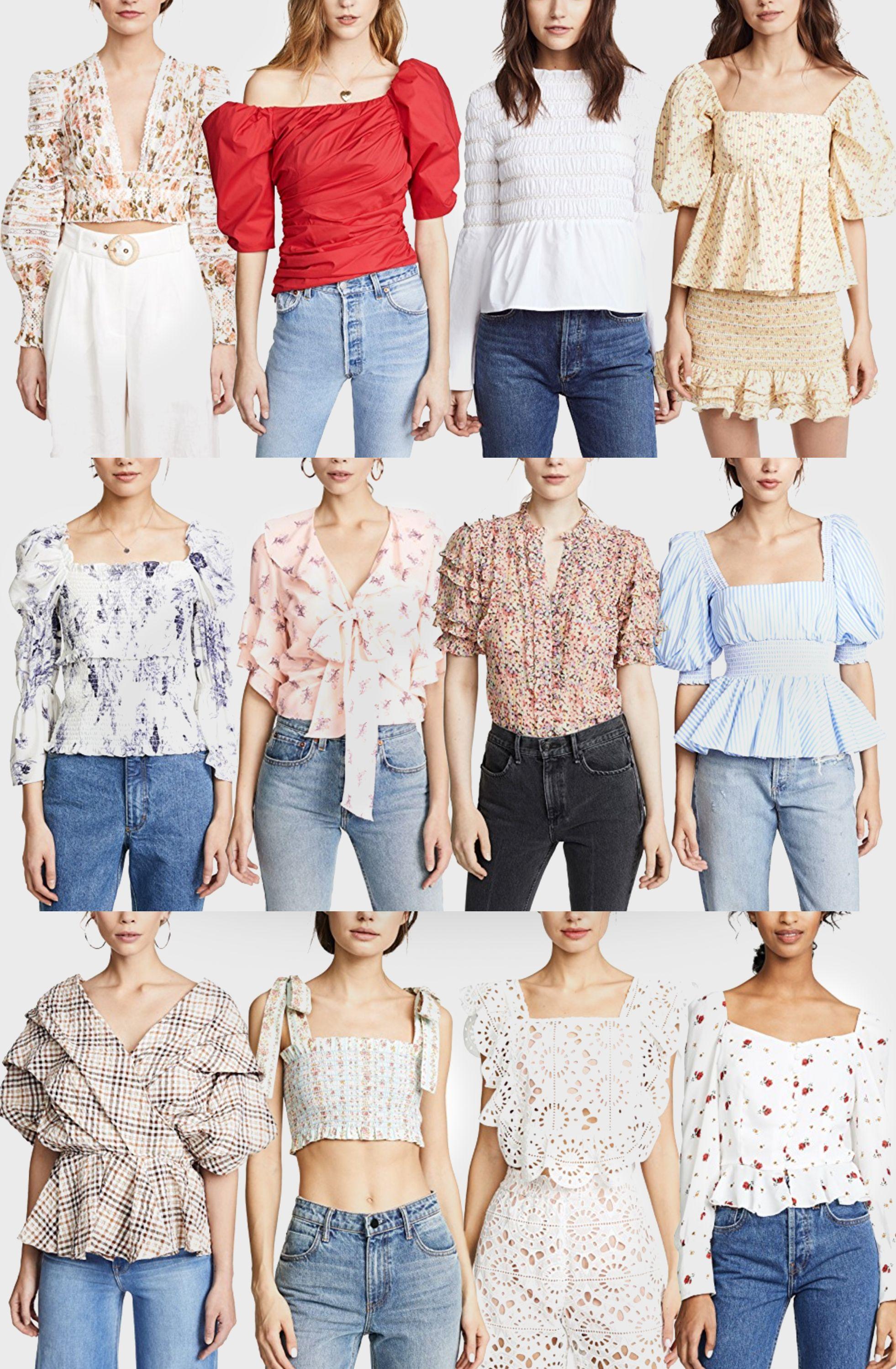 5e9dba7b3a95e3 All the romantic tops you need for spring! Click through to shop