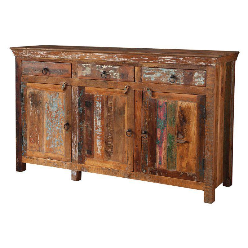 Coaster Company Of America Reclaimed Wood Rustic