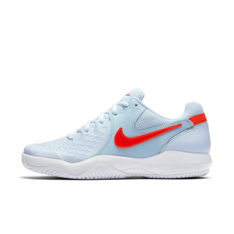 Nikecourt Air Zoom Resistance Women S Hard Court Tennis Shoe Blue In 2019 Nike Tennis Shoes Nike Blue Shoes