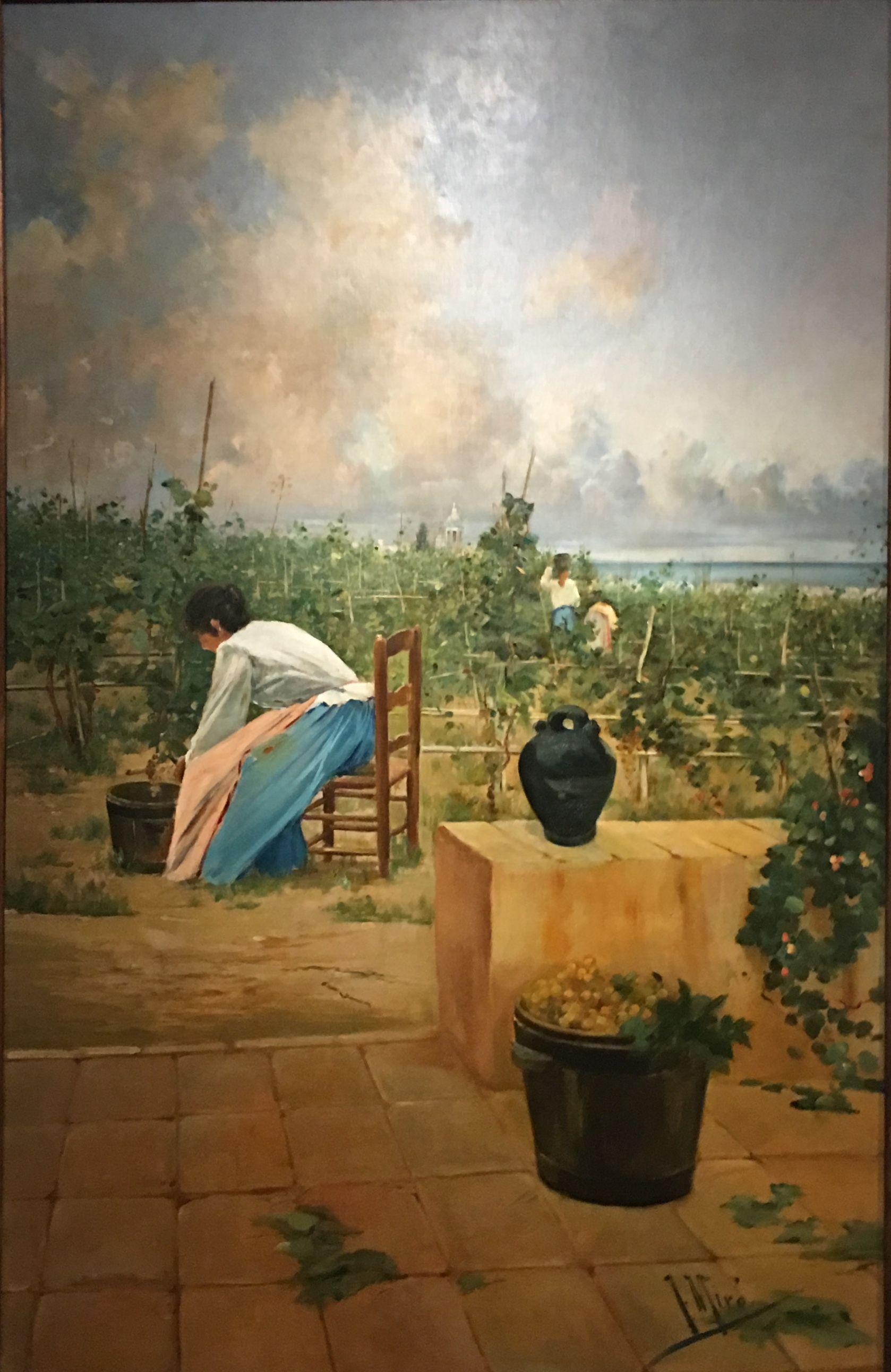 Pin By Izdamngoud On Villa Teresa Retro Vintage Painting Retro