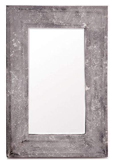 Mikel Concrete Wall Mirror Made Goods Concrete Wall