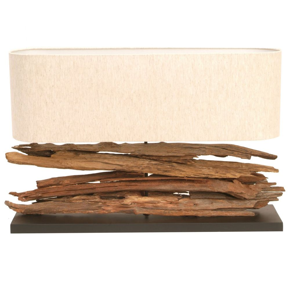 This table lamp made from driftwood has an oceanic appeal which this table lamp made from driftwood has an oceanic appeal which would suit many decors including mozeypictures Image collections