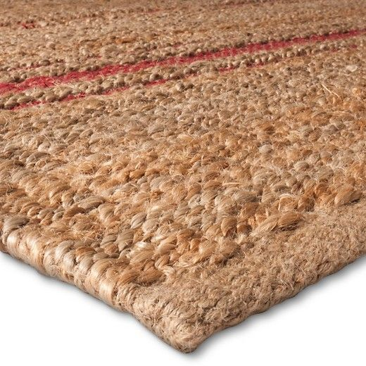 Jute Striped Rug The Industrial Shop Target Nate