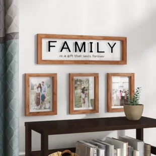 Gracie Oaks Morey 3 Opening Love Window Collage Picture Frame In