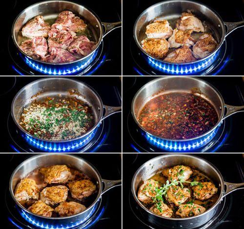 CHICKEN IN GARLIC AND HERB SAUCEReally nice recipes. Every  Mein Blog: Alles rund um Genuss & Geschmack  Kochen Backen Braten Vorspeisen Mains & Desserts!