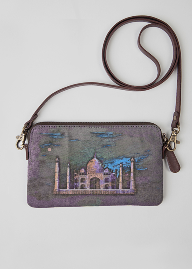 VIDA Statement Bag - TAJ MAHAL BAG by VIDA FqtTMMv
