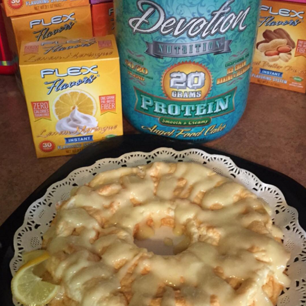 This Is A Recipe For Protein Angel Food Cake Ingredients 6 7 Egg Whites 1 Tsp Vanilla Extract 1 Ts Protein Desserts Protein Baking Protein Powder Recipes