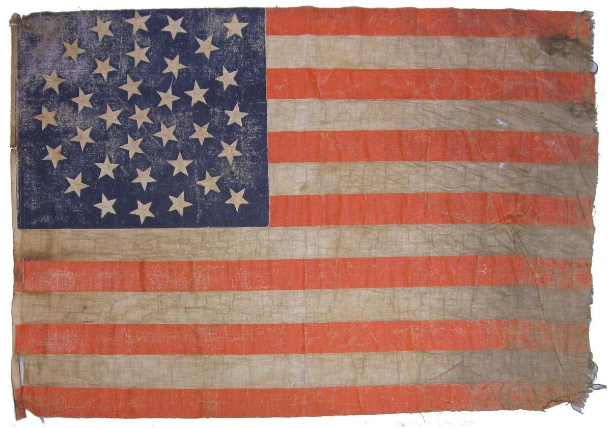 Rare Flags Antique American Flags Historic American Flags American Flag Civil War Flags Flag
