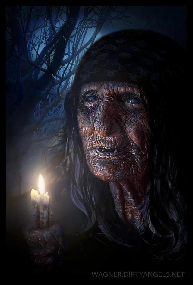 Картинки с бабой ягой страшные, картинки именем