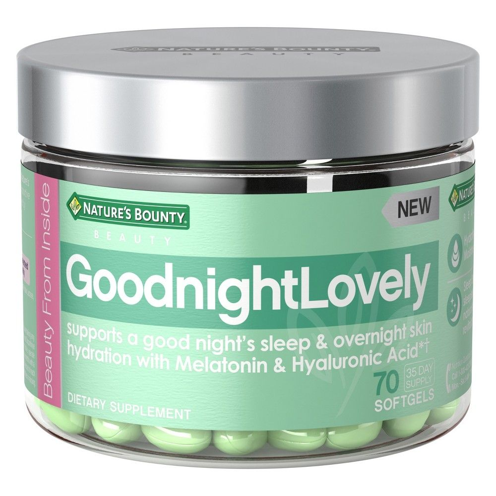 Nature's Bounty Goodnight Lovely Dietary Supplement