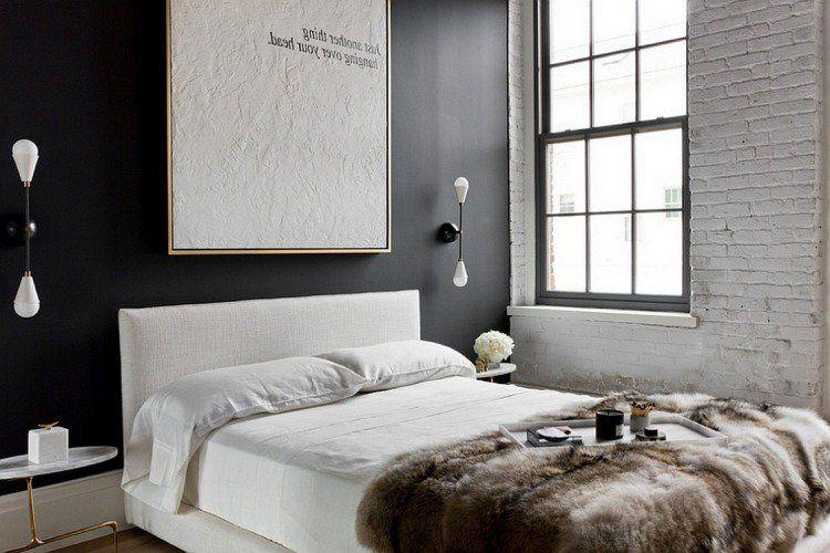 10 Chambres Au Look Noir Chambre A Coucher Noire Decor Chambre