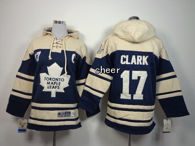 low priced 54236 ff4e2 NHL Kids Hoodies Jersey Toronto Maple Leafs #17 Clark beige ...