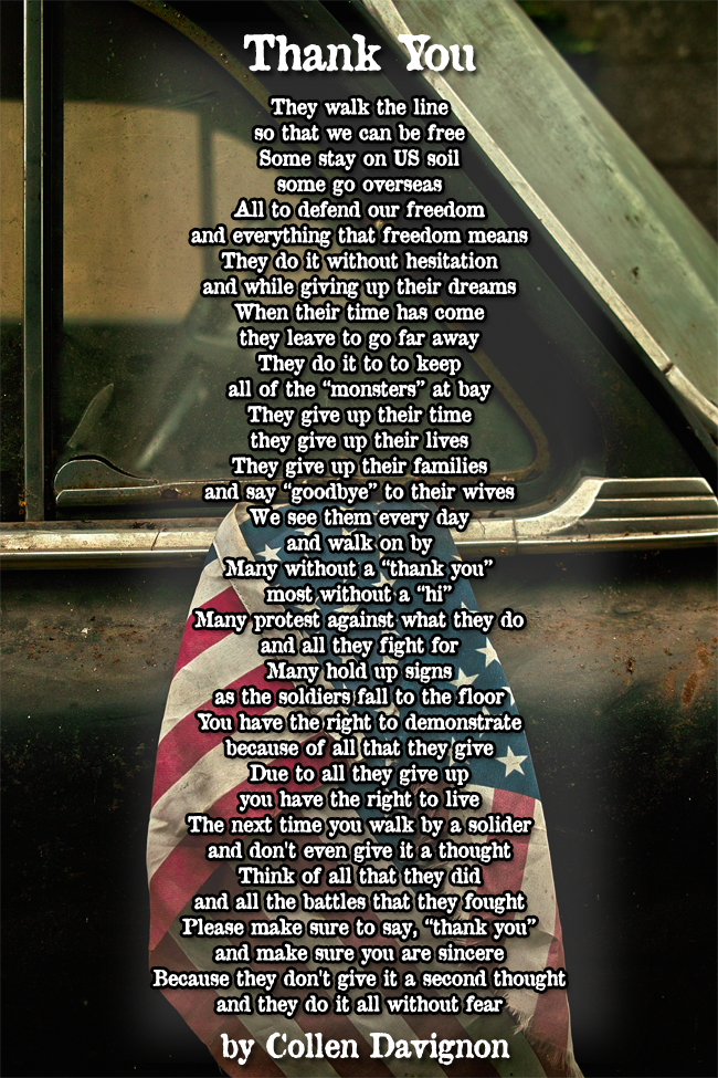 Veterans Day Poems And Tributes Please Feel Free To Click On The Image It