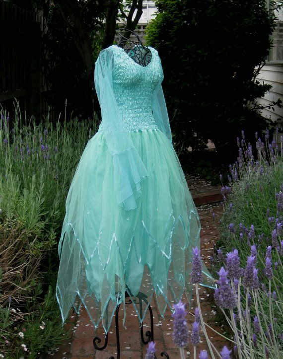 c3ccf39c96f0 New Adult Fairy Dress~ Choice of Colour ~PLUS SIZE ~ Couture Fantasy Halloween  Costume on Etsy, $57.18