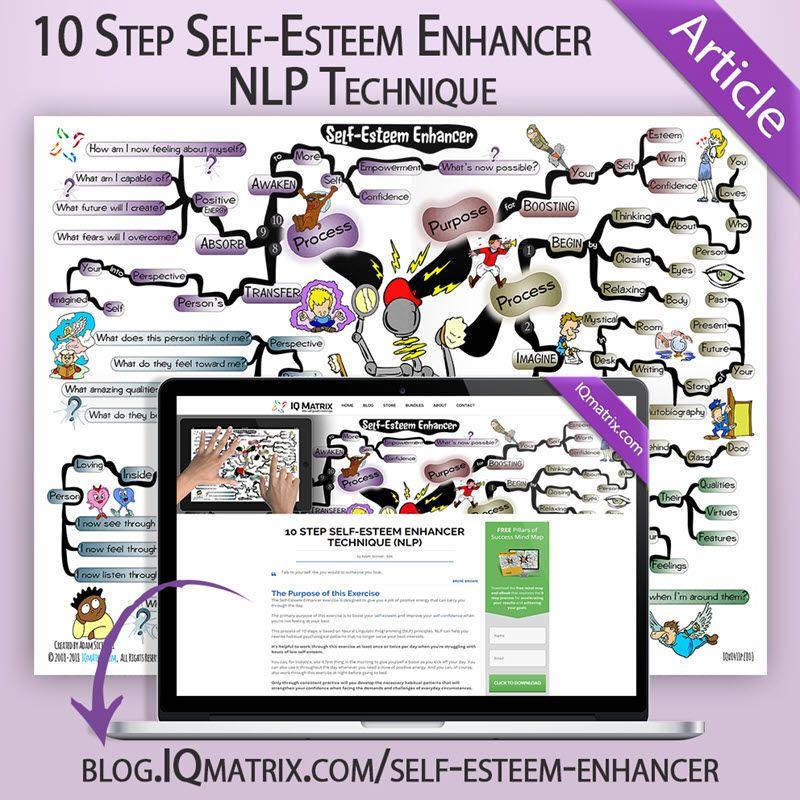 10 Step Self Esteem Enhancer Nlp Technique Nlp Nlp Techniques Self Esteem