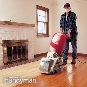 Flawless floor sanding house household and refinishing hardwood hardwood floor sanding do it yourself tips article the family handyman solutioingenieria Choice Image