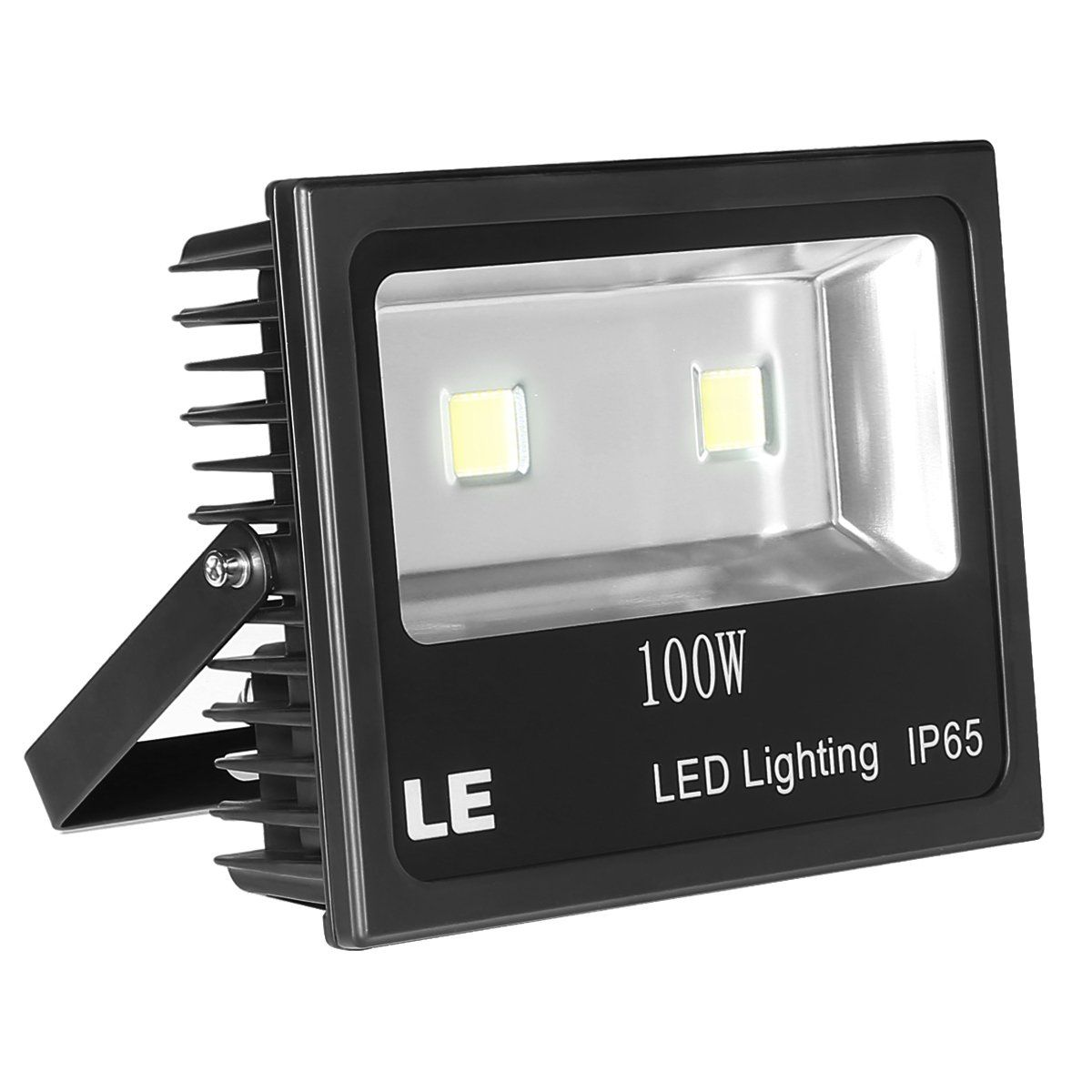 Le Outdoor Led Flood Light 100w 10150lm Ip65 Waterproof 250w Hps Bulb Equivalent Daylight White 6000k Led Flood Lights Outdoor Flood Lights Security Lights