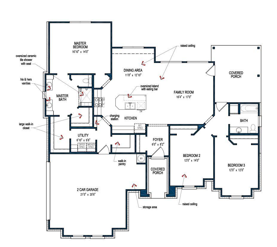 Floor Plan House Plans Custom Home Plans Floor Plans