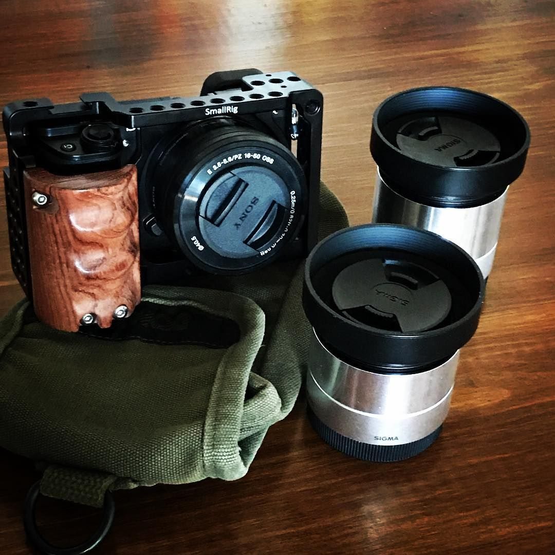 Cage With Wooden Handgrip For Sony A6000 A6300 2082 L Plate Bracket Kamera Alpha Smallrig Is Exclusively Designed In The Market To Bring Out Cameras Maximum Potential